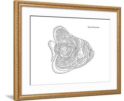 Coral Fish 13-Olga And Alexey Drozdov-Framed Giclee Print