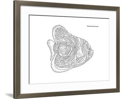Coral Fish 13-Olga And Alexey Drozdov-Framed Giclee Print