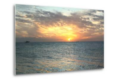 Key West Sunset VII-Robert Goldwitz-Metal Print