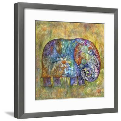 Runes Elephant-Oxana Zaika-Framed Giclee Print
