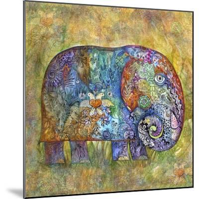 Runes Elephant-Oxana Zaika-Mounted Giclee Print