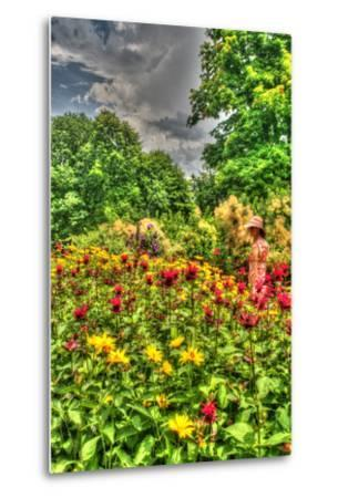 Model Release Garden Vertical-Robert Goldwitz-Metal Print