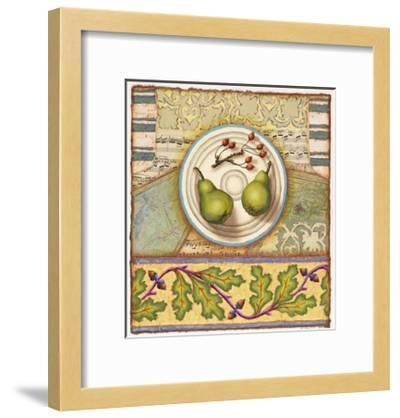 Menemsha Pears-Rachel Paxton-Framed Giclee Print