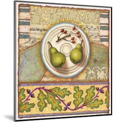 Menemsha Pears-Rachel Paxton-Mounted Giclee Print