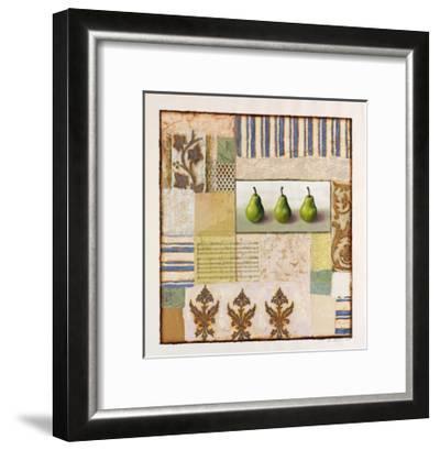 Three Standing Pears-Rachel Paxton-Framed Giclee Print