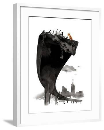 The Last of Us-Robert Farkas-Framed Giclee Print