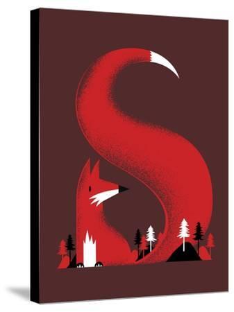S Like Fox-Robert Farkas-Stretched Canvas Print