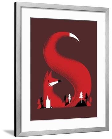 S Like Fox-Robert Farkas-Framed Giclee Print