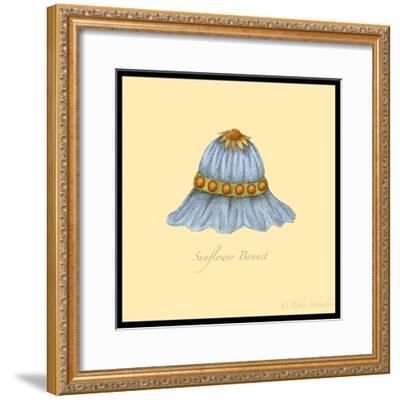 Sunflower Bonnet-Robin Betterley-Framed Giclee Print
