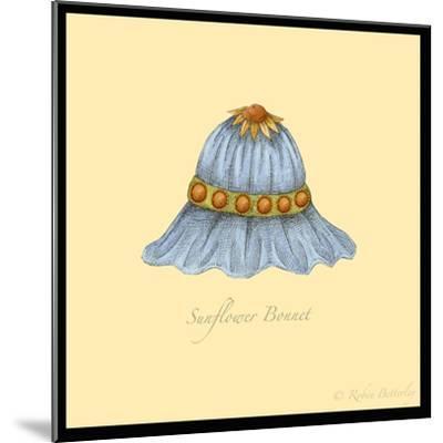 Sunflower Bonnet-Robin Betterley-Mounted Giclee Print