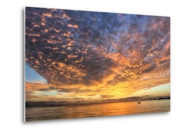 Key West Hobie Sunset-Robert Goldwitz-Metal Print