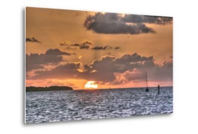 Key West Sunrise II-Robert Goldwitz-Metal Print