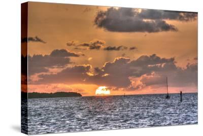 Key West Sunrise II-Robert Goldwitz-Stretched Canvas Print