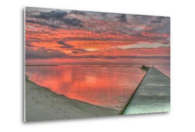 Red Higgs Sunrise-Robert Goldwitz-Metal Print