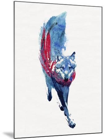 Lupus Lupus-Robert Farkas-Mounted Giclee Print