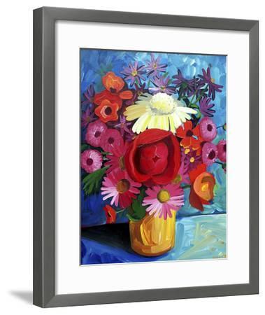 Still Life Gold Vase-Sara Catena-Framed Giclee Print