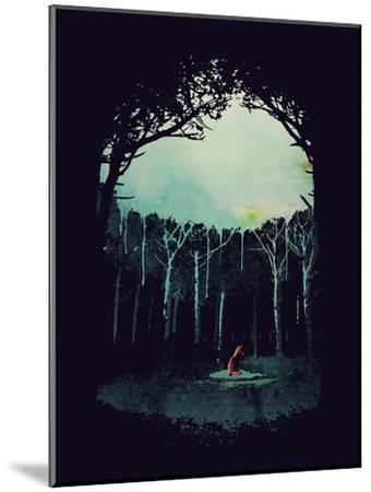 Deep in the Forest-Robert Farkas-Mounted Giclee Print