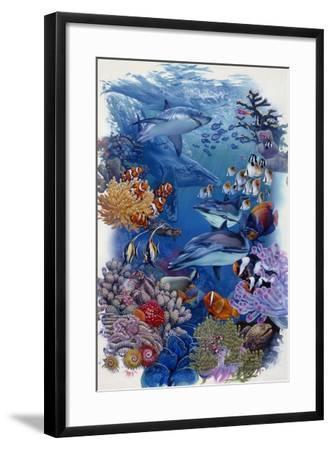 Reef-Tim Knepp-Framed Giclee Print