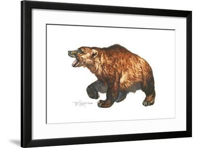 Cave Bear-Tim Knepp-Framed Giclee Print