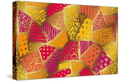 Abstract-Stessi-Stretched Canvas Print