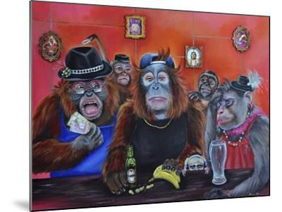 Monkey Business-Sue Clyne-Mounted Giclee Print