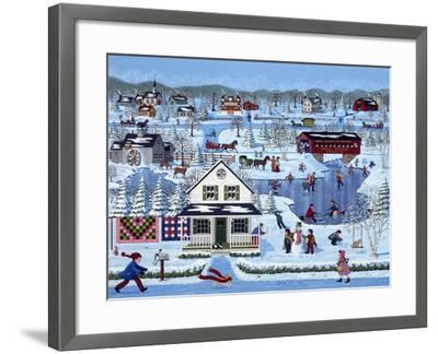 Winter Sampler-Sheila Lee-Framed Giclee Print