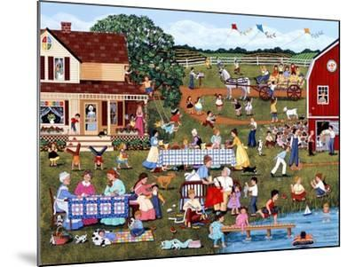 Annual Family Reunion-Sheila Lee-Mounted Giclee Print