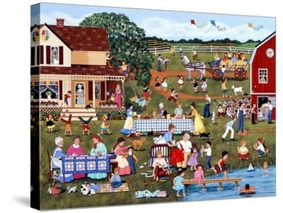 Annual Family Reunion-Sheila Lee-Stretched Canvas Print