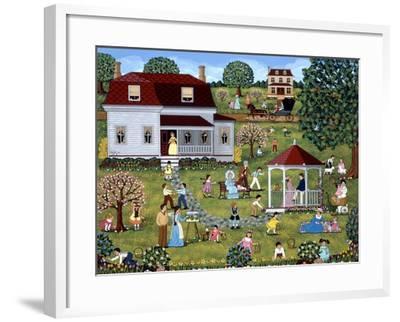 Easter Egg Hunt-Sheila Lee-Framed Giclee Print
