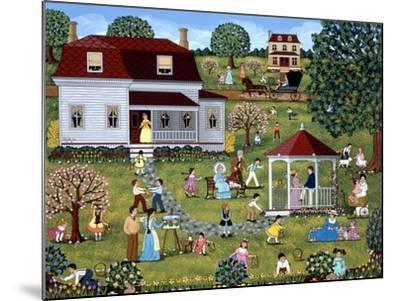 Easter Egg Hunt-Sheila Lee-Mounted Giclee Print