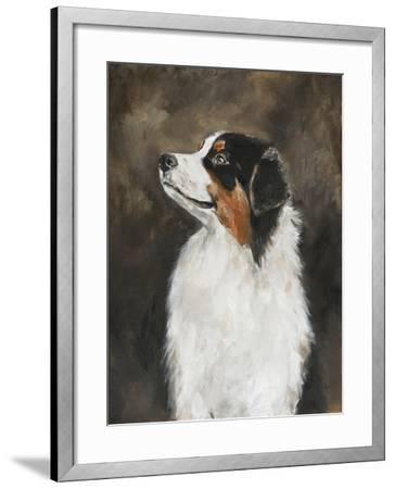 Australian Shepherd-Solveiga-Framed Giclee Print