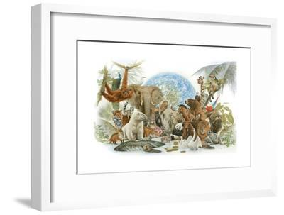 Animal Kingdom-Tim Knepp-Framed Giclee Print