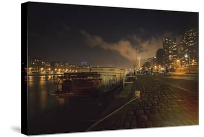 Moody Eiffel-Sebastien Lory-Stretched Canvas Print
