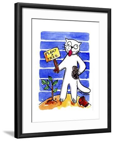 Crazy Maverix - Social Conscience #1-Sara Catena-Framed Giclee Print