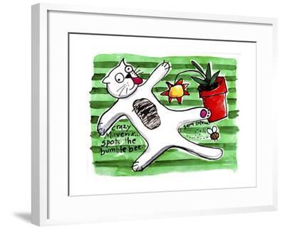 Crazy Maverix - Simple Life #3-Sara Catena-Framed Giclee Print