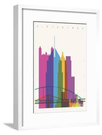 Pittsburgh-Yoni Alter-Framed Giclee Print