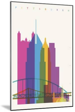 Pittsburgh-Yoni Alter-Mounted Giclee Print