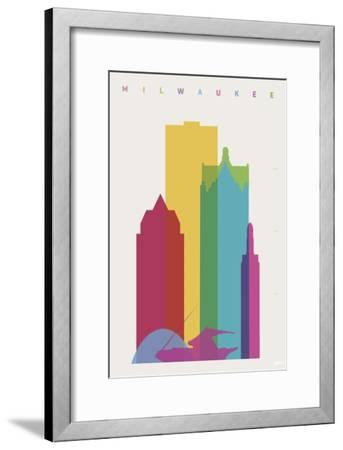 Miwaukee-Yoni Alter-Framed Giclee Print
