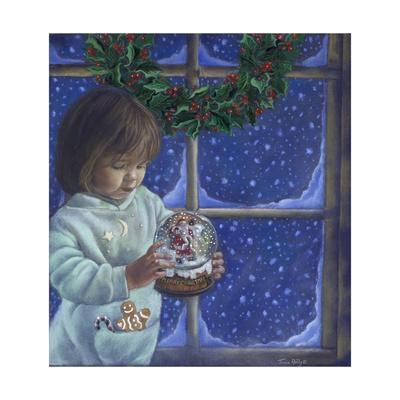 Snow Globe II-Tricia Reilly-Matthews-Framed Giclee Print