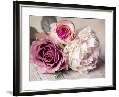 Bouquet-Symposium Design-Framed Giclee Print