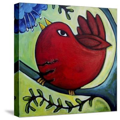 Monday Morning's Lovesong-Sara Catena-Stretched Canvas Print