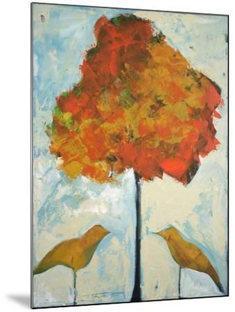 Gold Birds and Maple-Tim Nyberg-Mounted Giclee Print