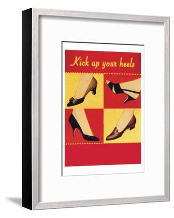 Kick Your Heels-Tim Wright-Framed Giclee Print