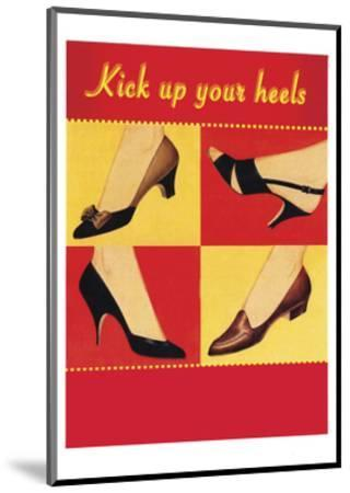 Kick Your Heels-Tim Wright-Mounted Giclee Print