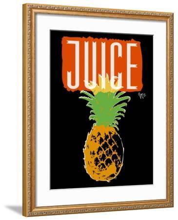 Pineapple-Sidney Paul & Co.-Framed Giclee Print