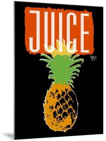 Pineapple-Sidney Paul & Co.-Mounted Giclee Print