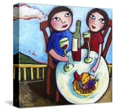 New Love-Sara Catena-Stretched Canvas Print