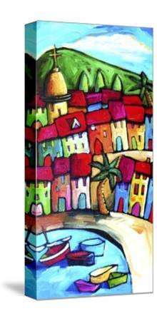 Les Lecques, Cote d'Azur, France-Sara Catena-Stretched Canvas Print