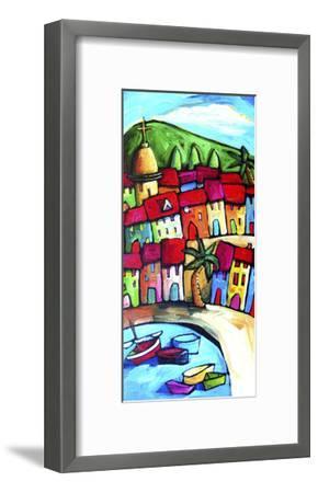 Les Lecques, Cote d'Azur, France-Sara Catena-Framed Giclee Print