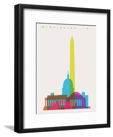 Washington DC-Yoni Alter-Framed Giclee Print